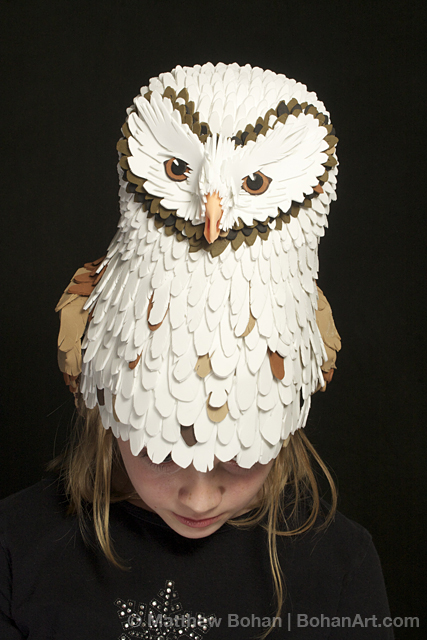Barn Owl Hat (Sheet Craft Foam)