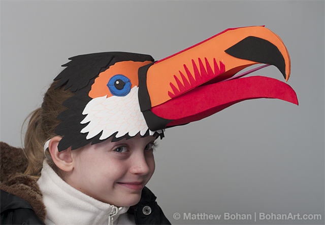 Toco Toucan (Sheet Craft Foam)