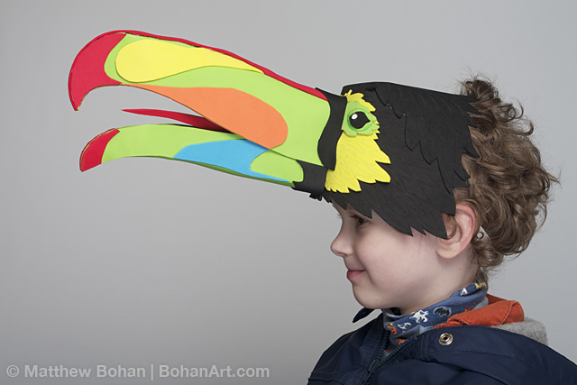 Keel-Billed Toucan (Sheet Craft Foam)