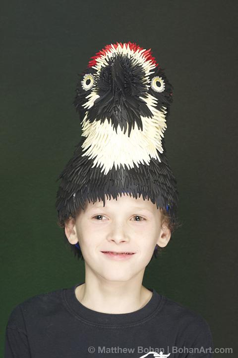 Acorn Woodpecker Hat