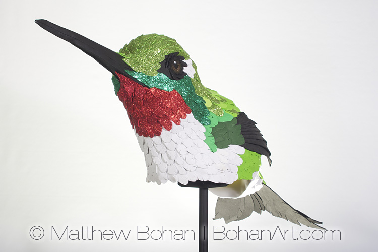 Ruby-throated Hummingbird Hat